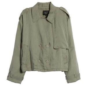 Rails ] Barclay Army Olive Utility Jacket